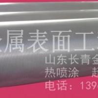 山东长青造纸底辊防腐修复