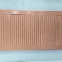 自信自立自强的新飞欧式铜铝复合片散热器