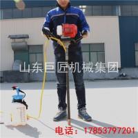 巨匠单人背包式岩心钻机 小型背包钻机性能稳定