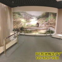 来宾工厂专用PVC地板耐酸碱PVC地板厂家商场办公室
