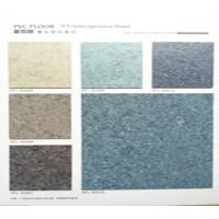 河池东兰县室内专用PVC地板价格碎花系列PVC地板安装施工