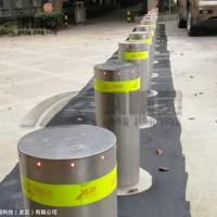 武汉阻车路桩厂 湖北遥控升降防撞柱 全自动升降路桩 挡车路桩