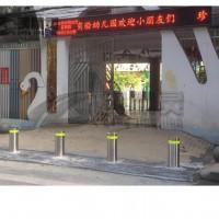 武汉不锈钢阻车路桩 武昌升降路桩批发 武汉专业生产路桩