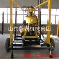 巨匠集团XYX-130行走式水井钻机 民用拖车式水井钻机设备