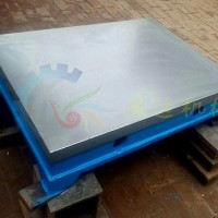 实力工厂铸铁研磨平台 研磨平板 压砂平板 嵌砂平板