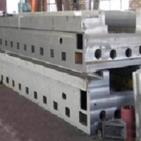厂家生产龙门刨床身铸件 龙门刨床身 刨床床身铸件