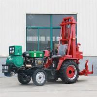 JZ-C拖拉机载正循环打井机 大孔径民用灌溉井车载式水井钻机