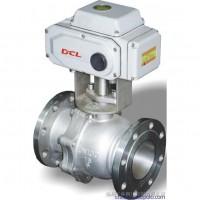 华通电动球阀DCL-200E,DCL-100B