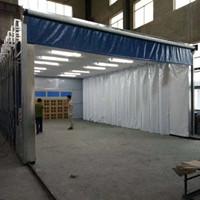 大型伸缩移动式油漆房 喷漆房 厂家直销